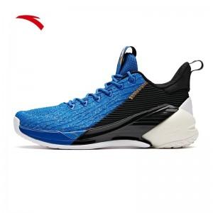 Anta 2019 Klay Thompson KT4 Low Men's Basketball Shoes - Blue/Black/White