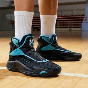 Anta KT5 Klay Thompson 'Away' Men's Basketball Sneakers - Black/Blue