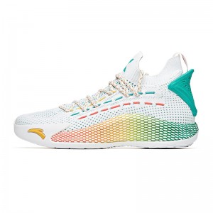 "Anta KT5 Klay Thompson ""Have Fun"" Low Basketball Sneakers - White/Green"