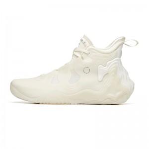 "Anta 2020 Men's Star Series Basketball Sneakers 星岳 ""Star Mountain"" - Ivory White"