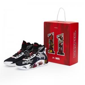 Anta KT5 Klay Thompson × Marvel Dead Pool Basketball Sneakers