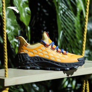 Anta Nest x Salehe Bembury Anta 2021 Men's Fashion Sneakers - Yellow