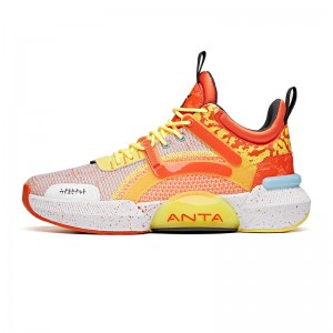 ANTA X NARUTO 2021 New Men's Basketball Sneakers - UZUMAKI NARUTO