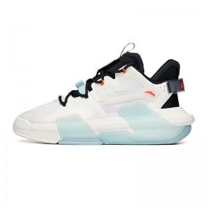 Anta x Yibo Wang 2021 Summer Badao 3.0 Men's Skate Shoes - White/Black/Red
