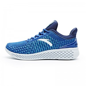 Anta 2017 Men's A-LIVEFOAM Cushioning Running Shoes - Blue/White