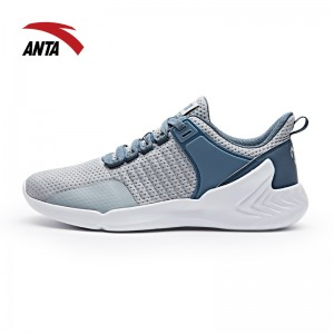 2017 Manny Pacquiao X ANTA Men's Boxing Training Shoes - Grey/White/Blue
