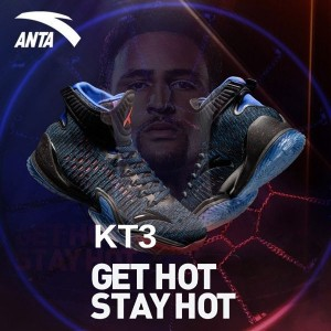 "Anta 2017 NBA Klay Thompson KT3 ""Get Hot Stay Hot"""