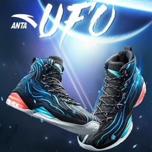 Anta 2018 Spring UFO Men's High Top Professional Basketball Shoes | Anta NBA Basketball Sneakers