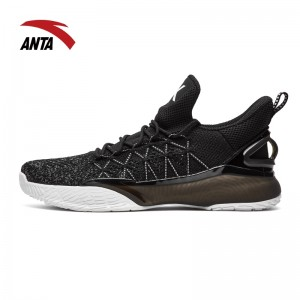 Anta 2018 KT3 Light Klay Thompson NBA Basketball Shoes - Black