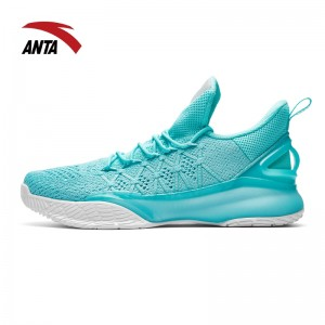 Anta 2018 KT3 Light Klay Thompson Training Basketball Shoes - Light Green