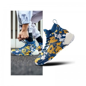 Anta 2019 Spring New Klay Thompson KT4  Men's Basketball Shoes - Blue/Yellow/White