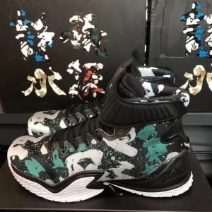 Anta KT3 Klay Thompson Retro Camo Basketball Sneakers