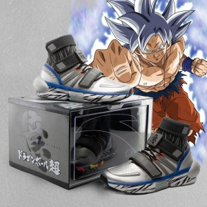 "Anta x Dragon Ball Super ""GOKU Ultra Instinct"" Basketball Culture Sneakers"