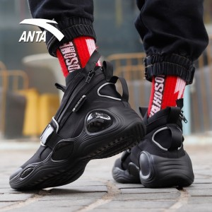 "Anta 2020 Spring ""Lunar Eclipse"" Fashion Show Casual Sneakers - Black"