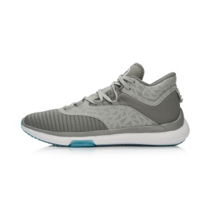 Li-Ning Way of Wade 2016 Culture Basketball Shoes- Iron Grey/Snow Grey