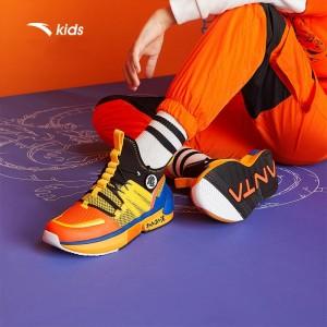 "Anta Kids x Dragon Ball Super ""GOKU Super Saiyan"" Basketball Sneakers"
