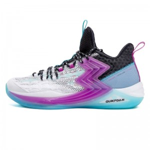 Aaron Gordon 2020 QBIG3 Slam Dunk PE Sneakers - White/Purple