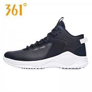 361 Degree Sport Jimmer Fredette Lonely Master Men's Basketball Training Shoes - Black/White | 2018 Fall