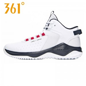 361 Degree Sport Jimmer Fredette Lonely Master Men's Basketball Training Shoes - White | 2018 Fall