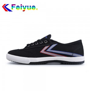 Feiyue 2017 New Low Fashion Canvas Lover's Shoes - Black Lightsaber