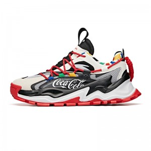 "Anta X Coca-Cola 2020 FLAME Men's Casual shoes ""COCA-COLA"""