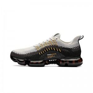 "Anta X NASA ""Star Cloud"" Men's Running Sneakers | Anta Air Cushion Running Shoes - Grey/Black"