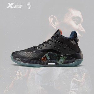 Xtep X Jeremy Lin 游云 IV Dragon TOTEM Basketball Sneakers - Black