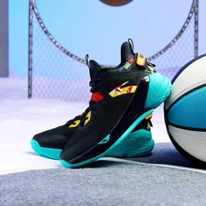 Anta KT 2020 Klay Thompson KIDS Basketball Shoes - Black/Red/Green