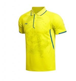 Li-Ning Men's China National Table Tennis Team 2015 Professional Polo Shirts
