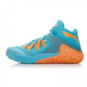 "Li-Ning Wade All in Team 3 ""Mandarin Duck""-Sky Blue/Orange"
