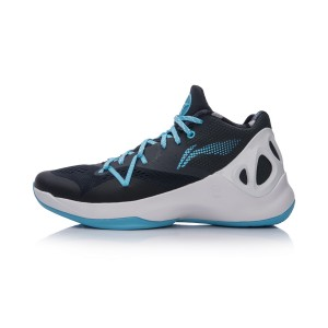 Li-Ning 2017 New Sonic V Low Men's Professional Basketball Shoes - Blue/White