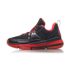 Li-Ning 2017 All City 6 Lining Wade Professional Basketball Game Shoes - Black/Red