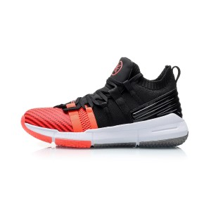 Way of Wade 2019 Wade Men's Mid Basketball Shoes - Red/Black