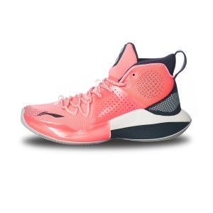 Li-Ning 2020 SPEED VIII Men's Basketball Game Sneakers - Pink/Grey