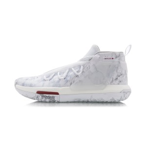 Li-Ning 2020 Way of Wade Fission VI Professinal Basketball Game Shoes - White/Gray