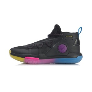 Li-Ning 2020 Way of Wade Fission VI Professional Basketball Game Shoes - Black