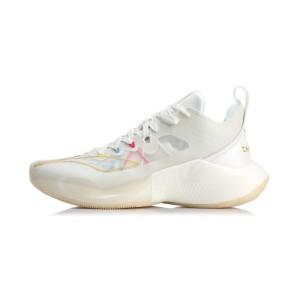 Li-Ning 2020 Sonic 8 Low-Champion Men's Professional Basketball Sneakers - White