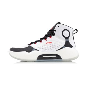 Li-Ning 2020 Yushuai XIV High Men's Basketball Game Shoes - White/Black