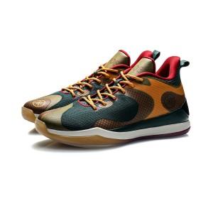 2020 Li-Ning Wade Professional Men's Basketball Game Shoes - Green/Yellow