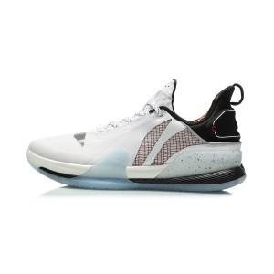 Li-Ning 2020 Speed VII Premium Men's Professional Basketball Game Shoes - White/Black