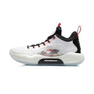 Li-Ning 2020 Yushuai XIV Low Men's Basketball Game Shoes - White/Black