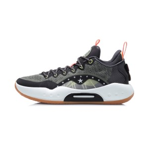 Li-Ning 2020 Yushuai XIV Low Men's Basketball Game Shoes - Green/Black