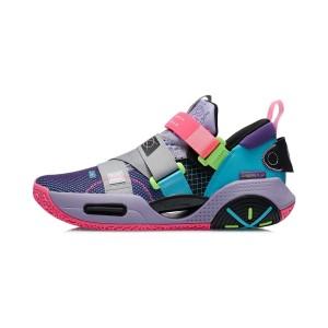 Wade 2021 ALL CITY 9 V2 Men's Professional Basketball Shoes - Purple/Blue