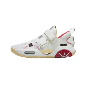 Wade 2021 ALL CITY 9 V2 Basketball Shoes - White/Red