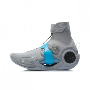 "Way of Wade 9 Infinity ""Gray Boy"" High Top New Design Basketball Sneakers"