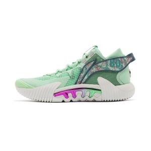Li-Ning 2021 BADFIVE2 Low Men's Outdoor Basketball Sneakers - Green