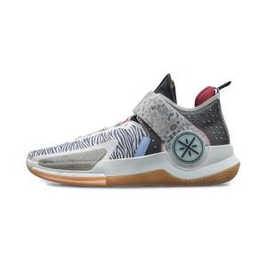 Li-Ning 2021 Way of Wade Fission VII Professional Basketball Game Shoes - Black/Gray
