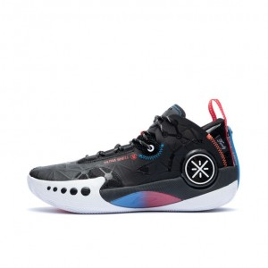 Way of Wade 9 Shadow 幻影 Men's Low Basketball Sneakers - Black