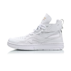 Paris Fashion Week Li-Ning 937 ACE Women's Basketball Culture Casual Shoes - White [AGBN056-5]