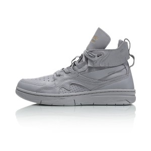 Paris Fashion Week Li-Ning 937 ACE Men's Basektball Culture Casual Sneakers - Grey [AGBN067-2]
